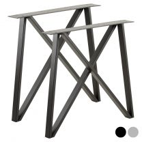 Hartleys Industrial Double Cross Table Legs