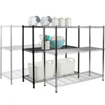 Hartleys 90cm 3 Tier Adjustable Wire Shelving Unit