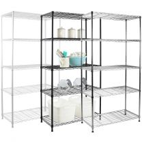 Hartleys 150cm 5 Tier Adjustable Wire Shelving Unit