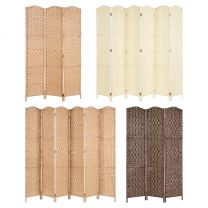 Hartleys Solid Weave Hand Made Wicker Room Divider