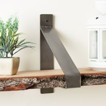 Hartleys Suspended Metal Shelf Brackets