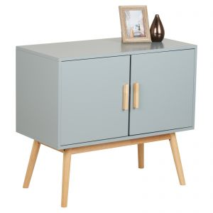 Hartleys Grey Retro Sideboard