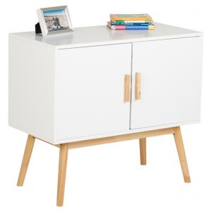 Hartleys White Retro Sideboard