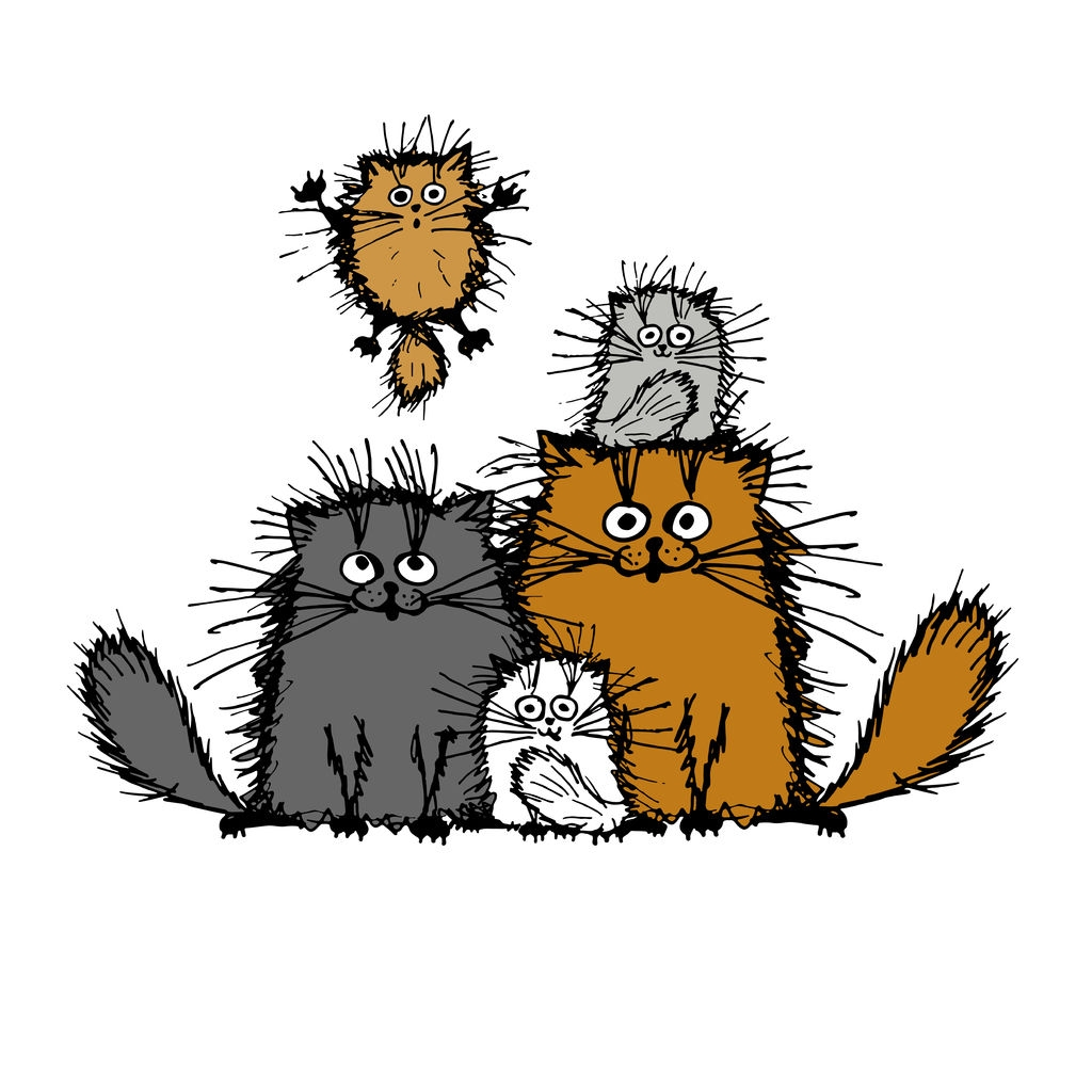 image-of-hand-drawn-cats