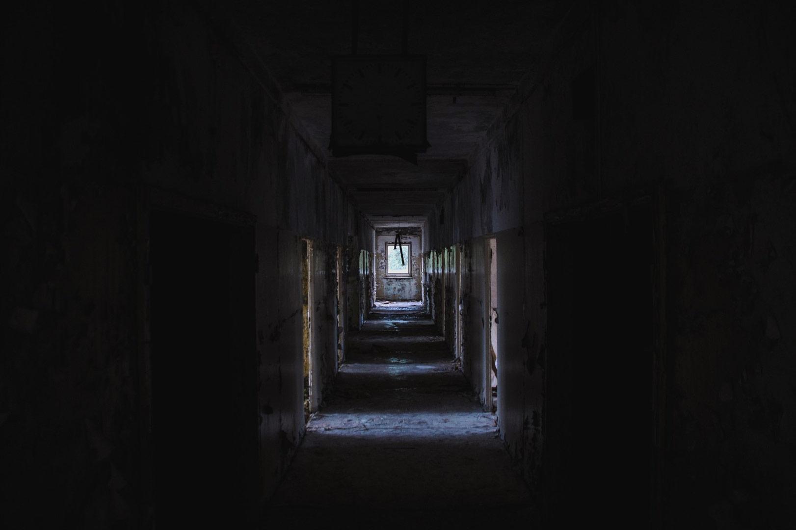 Empty-Dark-Building